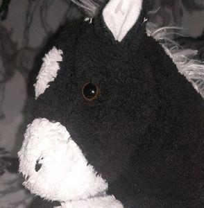 stuffed animal horse.